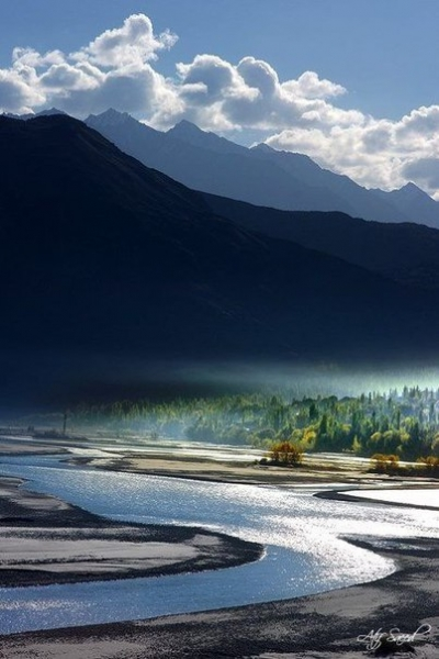 Indus River, Himalayas - India