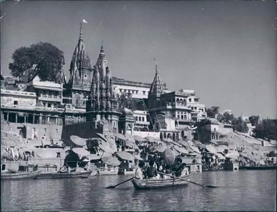 Banaras. Old photos.